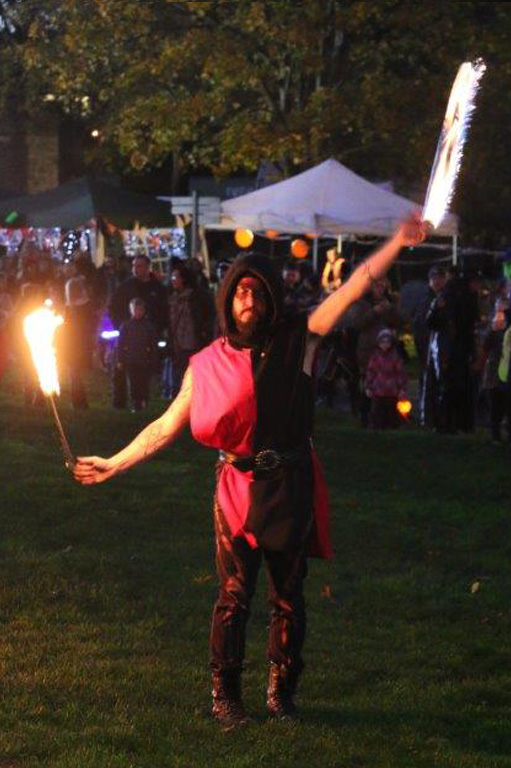 Fire Eater at Spooktacular 2017