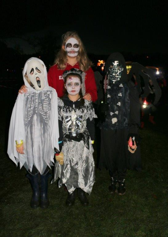 Four Children in Fancy Dress at Spooktacular 2017